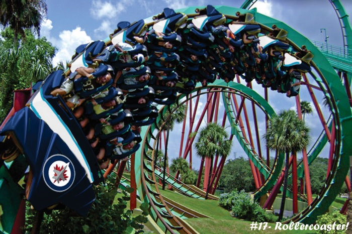 #17 – Rollercoaster!